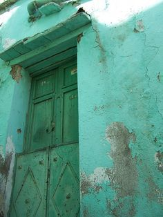 green door - guanajuato mexico ~ (currently culterizing the novels via backtories)