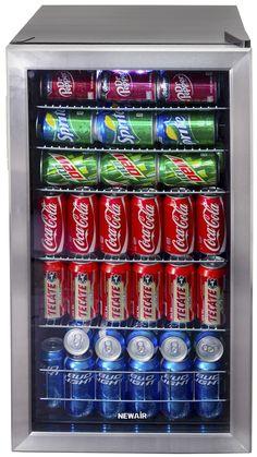 """Fingerhut - NewAir Beverage Cooler Approx. 18-1/4""""W x 19""""D x 33""""H"""