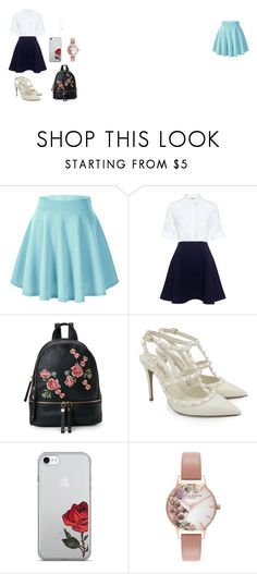 """""""rose"""" by caitlinkansil on Polyvore featuring Paul & Joe Sister, Urban Expressions, Valentino and Olivia Burton"""