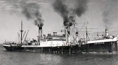 At 20.59 hours on 11 April 1941 the unescorted Aegeon was hit in the engine room…