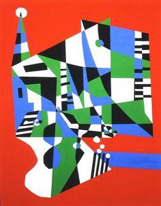 Stuart Davis, modernist painter.