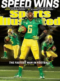 'The fastest man in football,' Oregon's De'Anthony Thomas makes Sports Illustrated cover | OregonLive.com