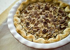 Grand Marnier Pecan Pie - Grand Marnier is pricey. I got a nice bottle on sale at my grocery store, but you could use any orange liqueur or regular orange juice #dessert