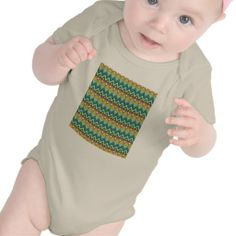 Pretty Turquoise Yellow Pink Native American Print Baby Bodysuit How toReview from Associated Store with this Deal...