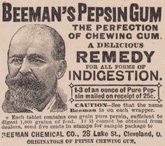 Beeman's Pepsin Gum 1892