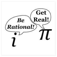 Funny math wall art posters