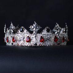 FANTASY CROWN Cross Crown Mens crown goth crown Gothic