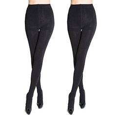92% nylon, 8% elastane . Hand wash or machine wash ,silky smooth and remarkably comfortable. Regular panty for a comfortable fit,Suitable for keep warm in winter. Control top waist contours for a smoother tummy hips and rear.Optically slimming effect. High quality elegant fashion tights,Colors:Two pairs of black.