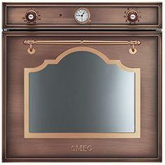 SF750RA: Einbaubackofen, Kupfer Antik, Energieeffizienzklasse A-10%. Schauen Sie selbst auf www.smeg.de