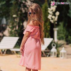 Rochii identice pentru mama si fiica din bumbac, de vara Wrap Dress, Cold Shoulder Dress, Dresses, Fashion, Vestidos, Moda, Fashion Styles, Dress, Fashion Illustrations