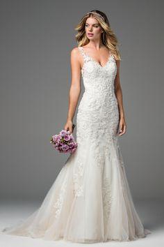 83076b233fd59 Style 18728 Xiomara WToo Wtoo Bridal, Blush Bridal, Bridal Dresses, Mermaid  Dresses,