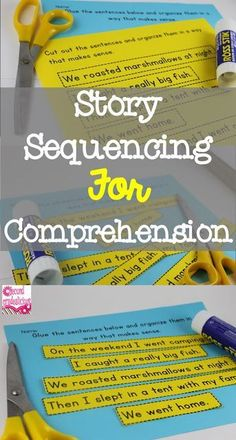 Use Sequencing to Improve Writing and reading comprehension! (FREEBIE INSIDE)