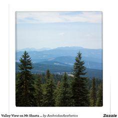 Valley View on Mt Shasta 3 Ring Binder