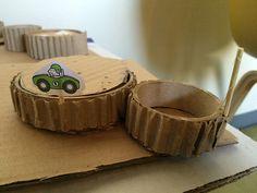Cardboard Gears
