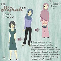 #YukMoveOn . . @indonesiamenutupaurat Hijrah Islam, Doa Islam, Muslim Quotes, Islamic Quotes, Happy Sunday Morning, All About Islam, Hijab Tutorial, Self Reminder, Islamic Pictures