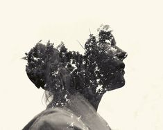 multiple exposure portraits | by christoffer relander