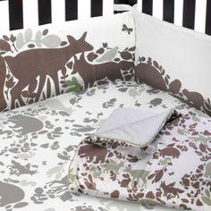 OMG this is adorable! Dwell Studio™ Woodland Tumble Nursery Collection - BedBathandBeyond.com