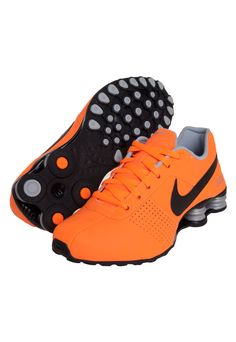 womens nike shox deliver orange white