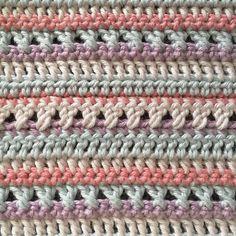 Another tiny pastel blanket for the doll house Yarn: #karenklarbæksgarn in colours 'Pastel Rose' 'Baby Blue' 'Lilac' and 'Peach' #bymamidk #crochet #crochetaddict #crochetersofinstagram #craftastherapy #miniafghan #stripes #miniblanket #hekleglede #haakgeluk #virkat #handmade #hekle #hekla #haken #häkeln #ganchillo #pastelstripes #crochetconcupiscence #makersgonnamake #hækle #hæklet #hæklenørd #minitæppe #tildukkehuset #miniature by bymamidk