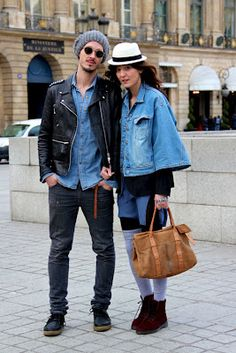 Wardrobe's Secrets: Street Style Couple