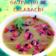 Gazpacho de calabacín