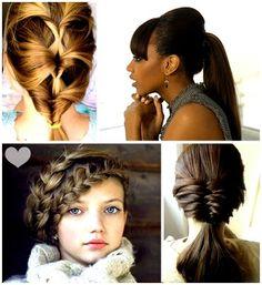 penteados...