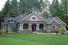 http://www.houseplans.com/plan/3500-square-feet-4-bedrooms-3-bathroom-farm-house-plans-3-garage-36656...this would be perfect if it had more of a wrap around porch or a huge back patio deck