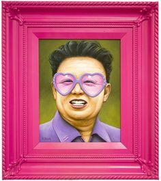 Kim Jong Pink, ou comment allier le kitch et le mauvais goût !