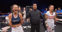 """Cris 'Cyborg' Justino defeated by Jorina Baars In Muay Thai Action at Lions Fight 14 -  By Rich Davie @Rich Davie March 29, 2014  The """"unbeatable"""" Cris 'Cyborg' Justino was defeated by Jorina Baars in Muay Thai action at Lions Fight 14 last night.  Jorina Baars defeated Cris Cyborg by unanimous decision with the judges scorecards reading 49-45, 48-45, 49-44, to win the Lions Fight Welterweight women's title."""