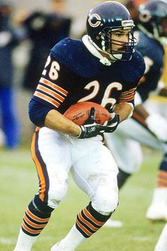 Matt Suhey, who with Walter Payton was the best backfield the Bears ever had.  He was also Walter's best friend and now cares for the Payton family as executor of Walter's estate.