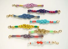 How-Tuesday: Nautical Knot Bracelets on Etsy