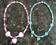 Specialbeställning till två små systrar. Silver lås, pärlor och agater. Bespoke jewellery for two little sisters. Silver clasp,  pearls and agats.
