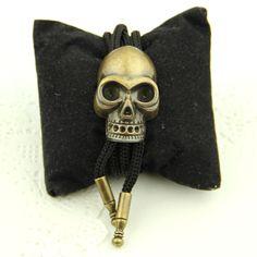 Easter Skull Bolo Ties for Men Bronze Gold American Cowboy Style Animal 2017 New Fashion Designer Women Necktie Mens Accessories