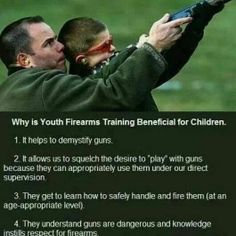Benefits of teaching your kids about Firearms . Training Programs, Training Tips, Home Protection, Gun Rights, Good Parenting, Child Safety, Priorities, Firearms, Guns