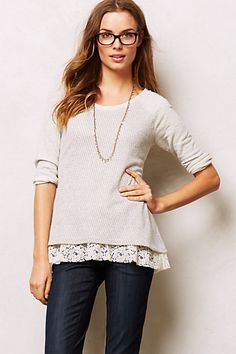 hattie sweatshirt / anthropologie