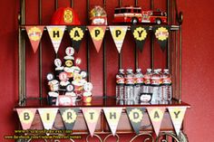 Fire Truck Party Ideas | Party Search - Boy Birthday,Fire Truck Firefighter | Catch My Party