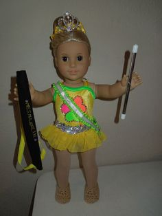 American Girl Doll Baton Twirling Costume Plus Accessories | eBay