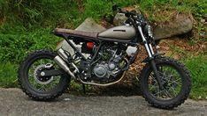 Scrambler Yamaha XT660R 2012 #scrambler #vride #unfinished
