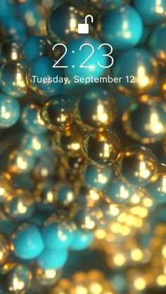 Blue and gold✨