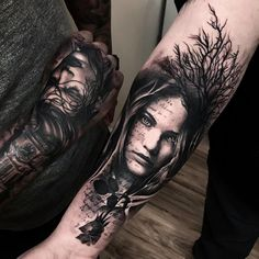 tattoo by Mark Wosgerau