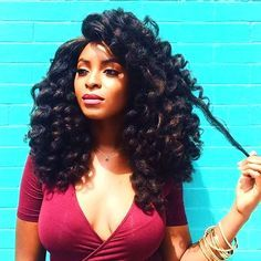 Big Bouncy Curls – if you like this type of crochet you can buy it here Ombre Brazilian Kinky Curly Virgin Hair – if you like this type of crochet you can buy it here or here Save Save