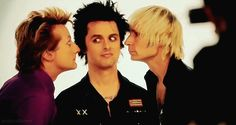 Green Day. Billie Joe Armstrong, Mike Dirnt, Tre Cool