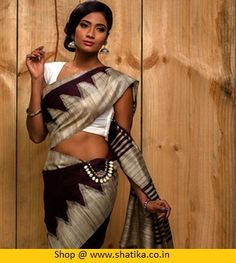#Dupion silk sarees are medium weight silk #sarees that are weaved in the eastern parts. Check out latest collections of dupion saree for #online shopping at Shatika and get exciting discount deals on these sarees including free shipping.