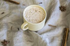 Needing a nourishing pick-me-up? Full of antioxidants and flavonoids, enjoy this coconut chai in the morning, afternoon or any time of the day! Treat yourself!