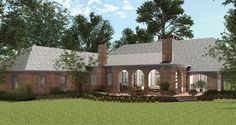 St. Landry House Plan 6964 - 4 Bedrooms and 4.5 Baths | The House Designers