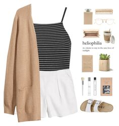 """""""when you're having an off day."""" by nostalgicteen ❤ liked on Polyvore featuring Topshop, Madewell, H&M, Birkenstock, Fresh, Giorgio Armani, Cath Kidston, Ciao Bella, Blackbird Letterpress and Chloé"""