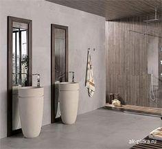 Porcelanosa tegels #CERAMIC #TILES - TOSCANA STONE 45X120 #bathroom ...