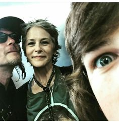 Daryl, Carol & Carl. TWD - love them ♡