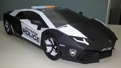 Lamborghini Aventador DIY papercraft model built by Joerg Wamper of Germany. Get and build yours at http://visualspicer.com/store