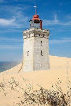 Lighthouse Of Rubjerg Knude, Denmark.